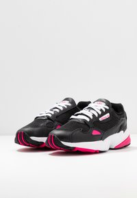 adidas Originals - Trainers - core black/shock pink/footwear white - 4