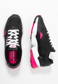 adidas Originals - Trainers - core black/shock pink/footwear white - 3