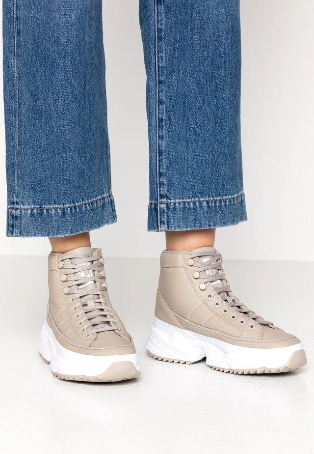 KIELLOR XTRA  - Zapatillas altas - light brown/footwear white