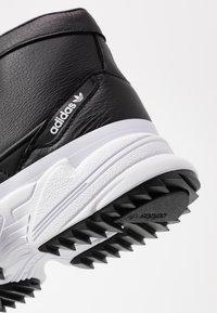 adidas Originals - KIELLOR XTRA  - Høye joggesko - core black/footwear white - 2