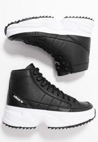 adidas Originals - KIELLOR XTRA  - Høye joggesko - core black/footwear white - 3