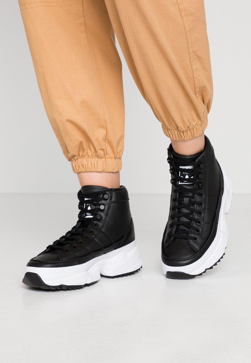 adidas Originals - KIELLOR XTRA  - Høye joggesko - core black/footwear white