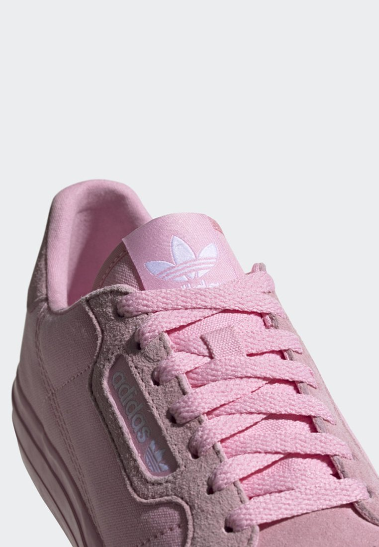 adidas Originals CONTINENTAL VULC SHOES - Sneakersy niskie - pink