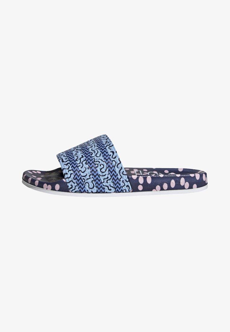 adidas Originals - ADILETTE SLIDES - Mules - blue