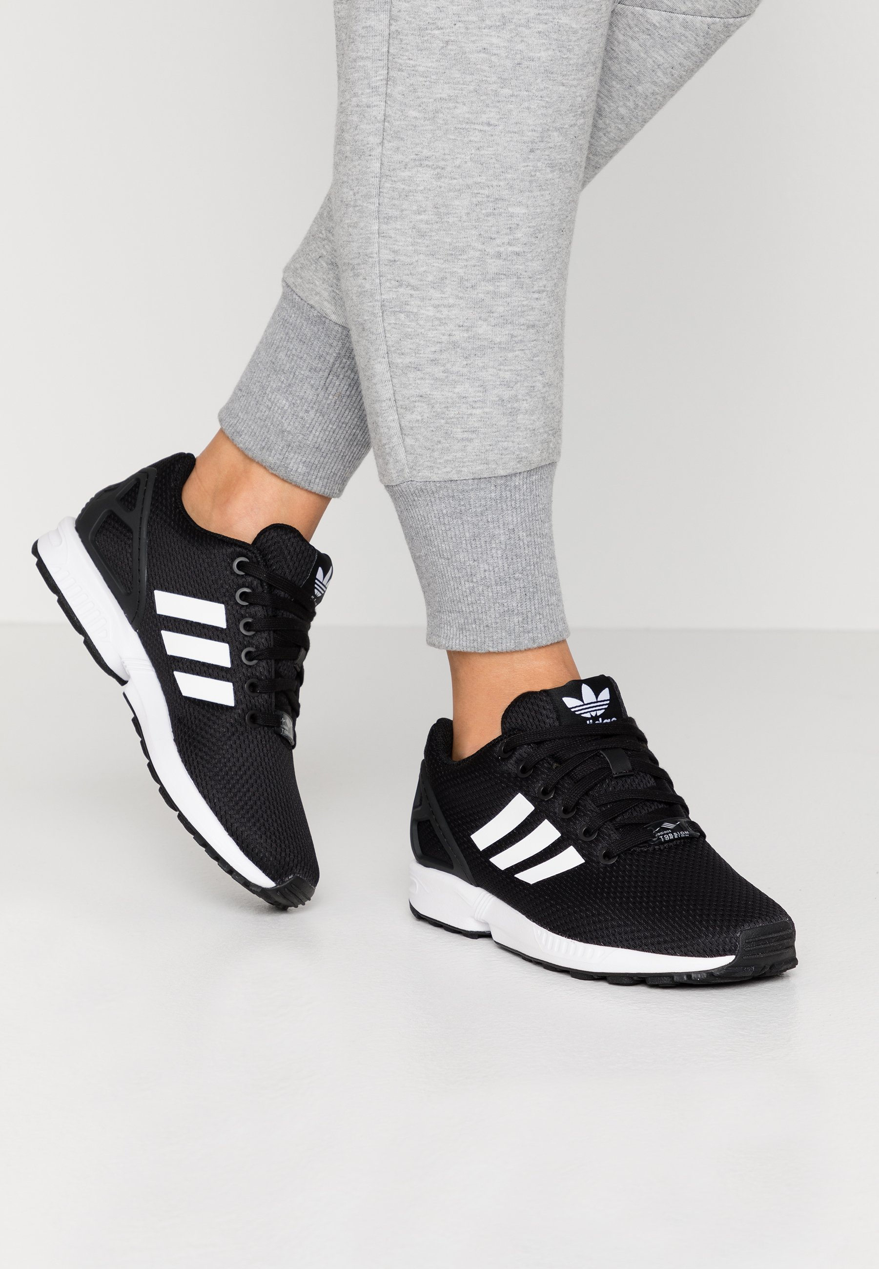 adidas Originals ZX FLUX - Sneakers laag - clear black ...