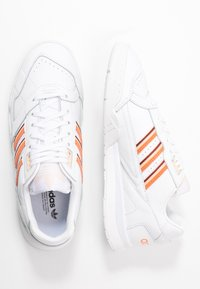 adidas Originals - A.R. TRAINER - Trainers - footwear white/amber tint/glow orange