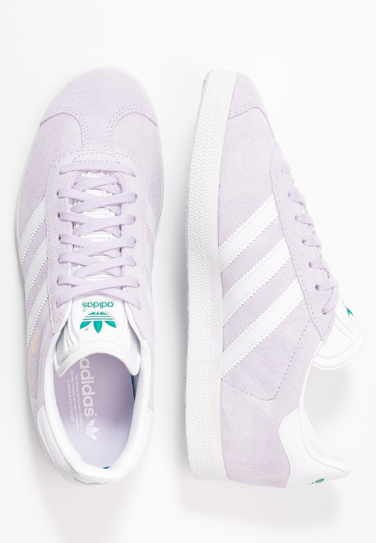 Adidas Originals Gazelle - Joggesko Purple Tint/footwear White/glacier Green