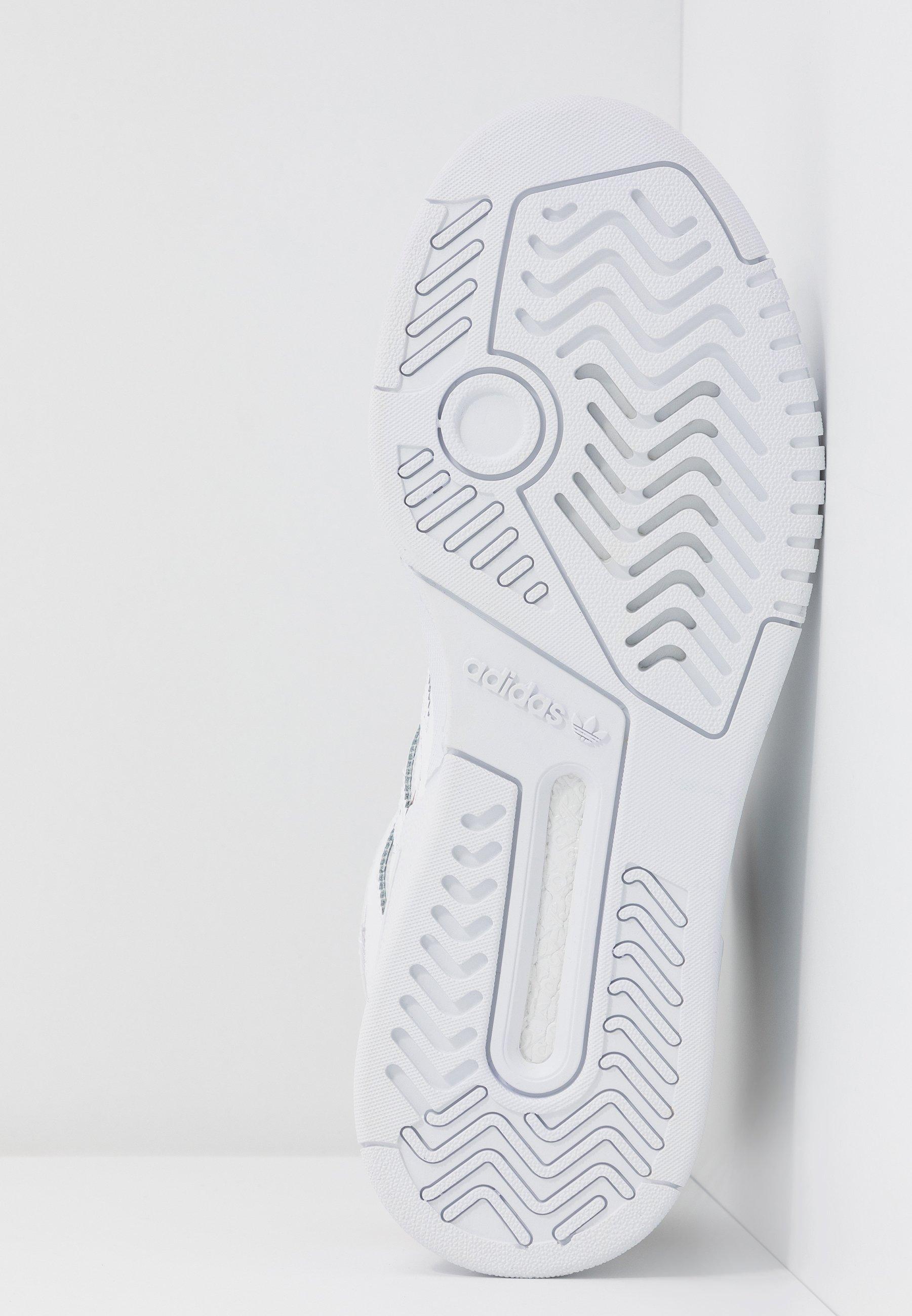 adidas Originals DROP STEP - Sneakersy wysokie - footwear white/copper metallic