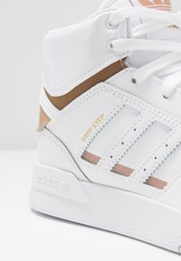 adidas Originals - DROP STEP  - Sneakers hoog - footwear white/copper metallic - 2