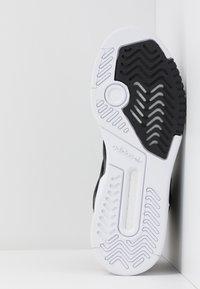 adidas Originals - DROP STEP  - Høye joggesko - core black/gold metallic/footwear white - 6