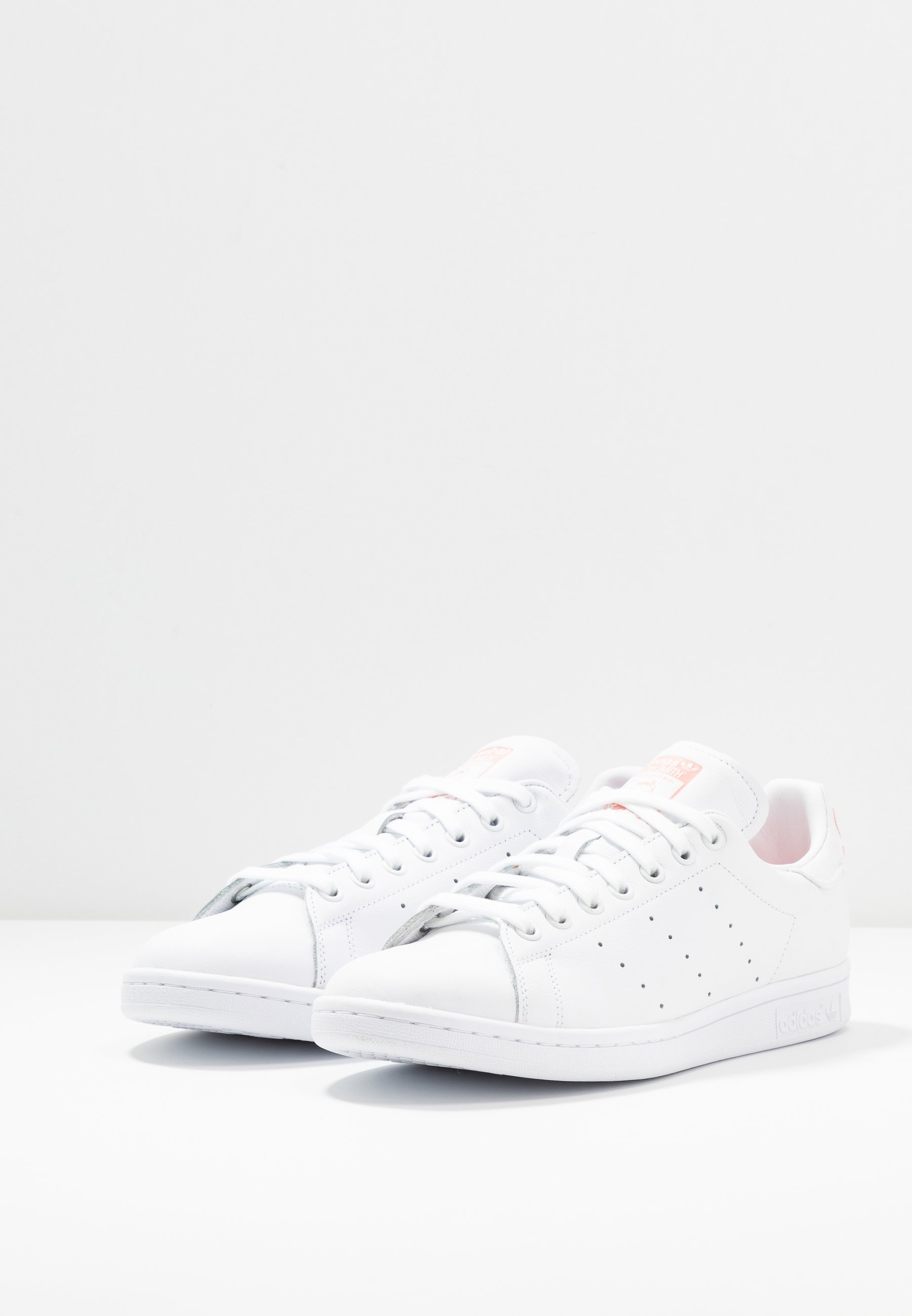 adidas Originals STAN SMITH - Trainers - footwear white/glow pink