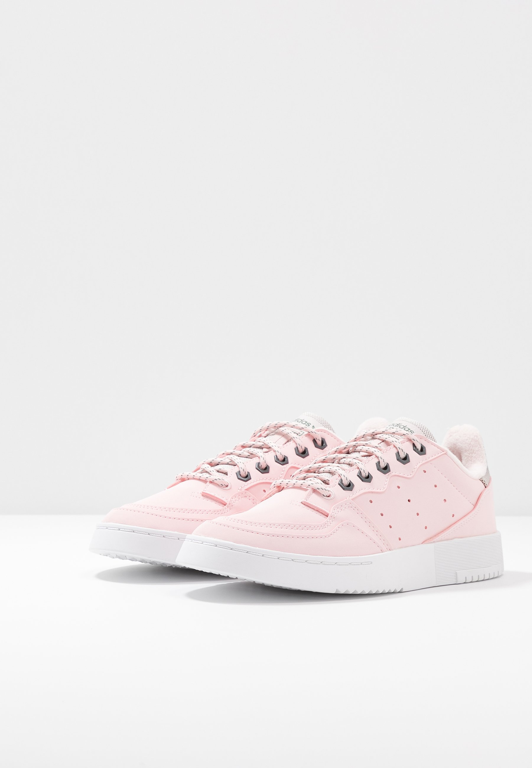 adidas Originals SUPERCOURT - Sneakers - halo pink/trace green