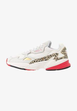 FALCON - Sneakers basse - chalk white/offwhite/scarlet