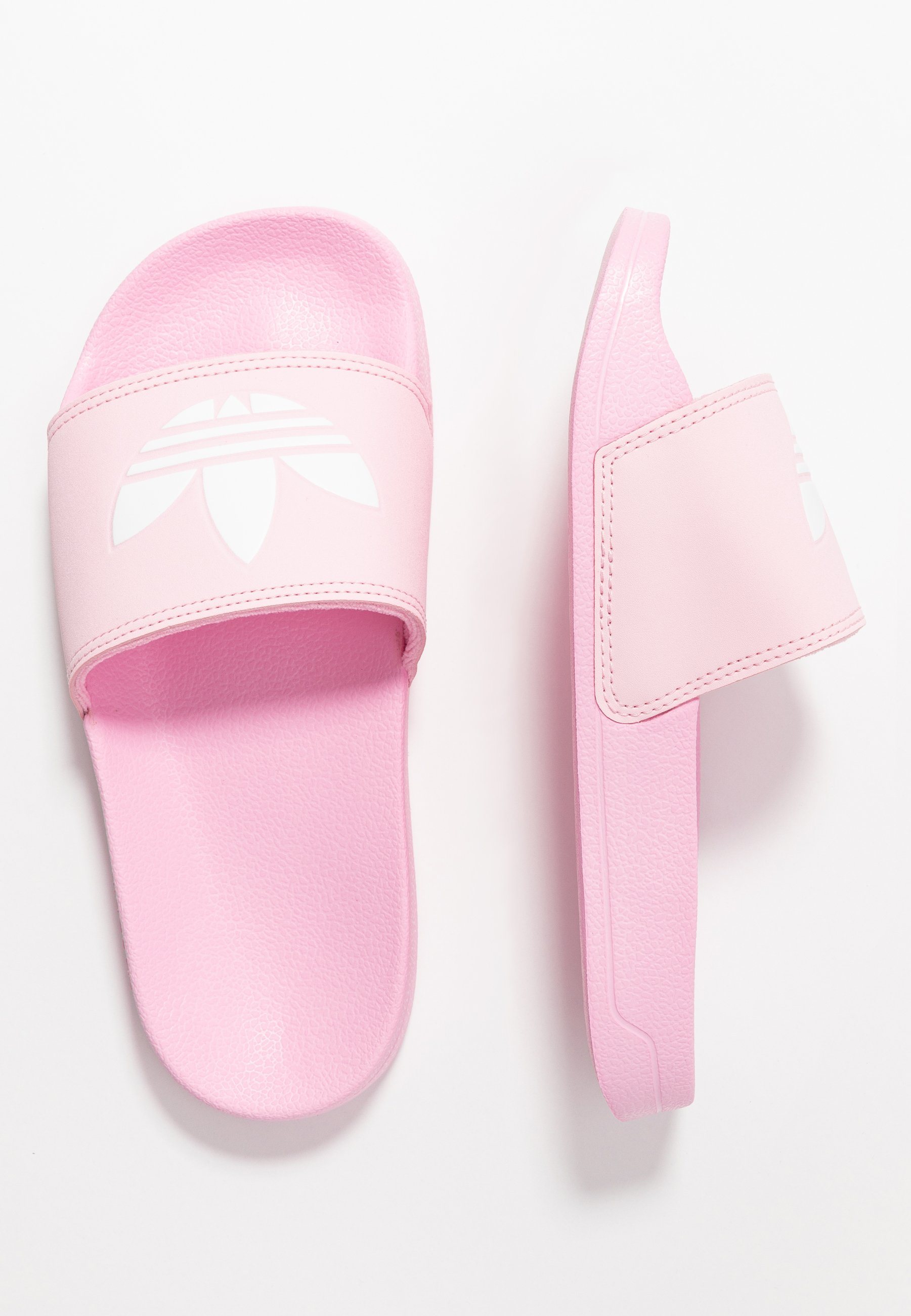 adidas Originals ADILETTE LITE - Mules - true pink/footwear white