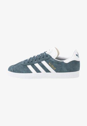 GAZELLE  - Zapatillas - legend blue/footwear white/gold metallic