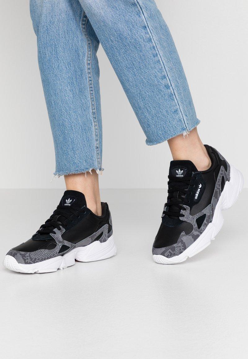 adidas Originals - Sneakers laag - clear black/footwear white