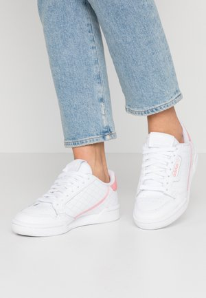 CONTINENTAL 80  - Sneakersy niskie - footwear white/glow pink/true pink