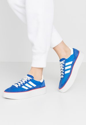SLEEK SUPER - Joggesko - royal blue/offwhite/glow blue