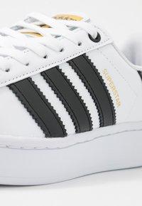 adidas Originals - SUPERSTAR BOLD - Sneaker low - footwear white/clear black/gold metallic - 2