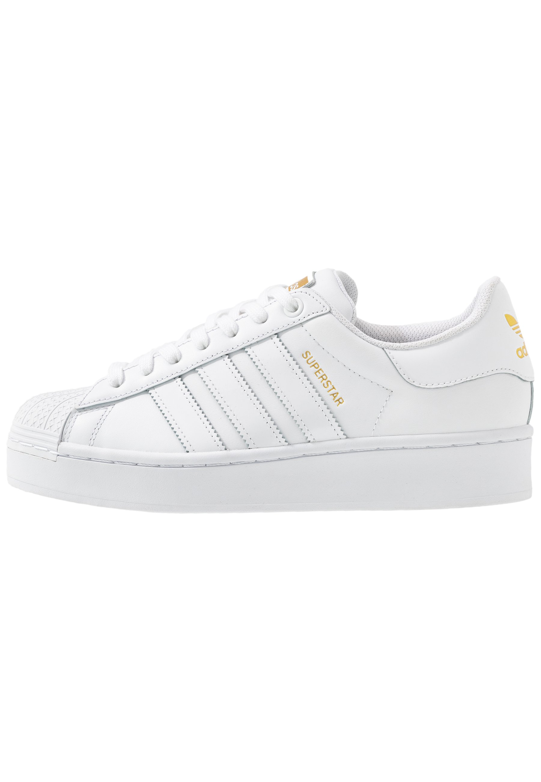 Adidas Originals Superstar Bold - Sneakers Basse Footwear White/gold Metallic IPzU4lg
