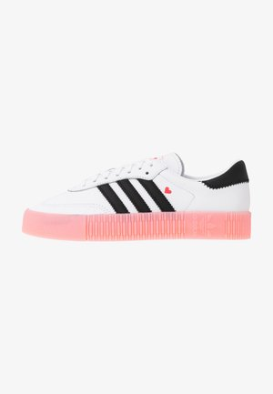 SAMBAROSE  - Sneakers - footwear white/core  black/glow pink