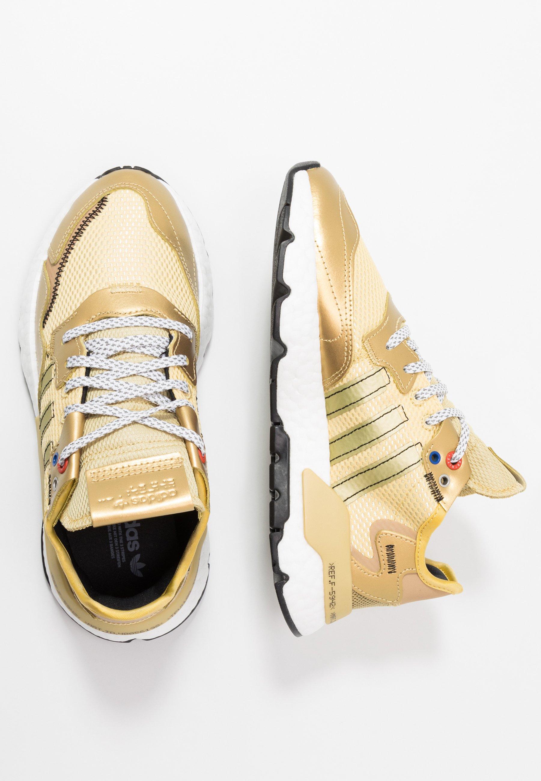 Adidas Originals Nite Jogger - Joggesko Gold Metallic/core Black