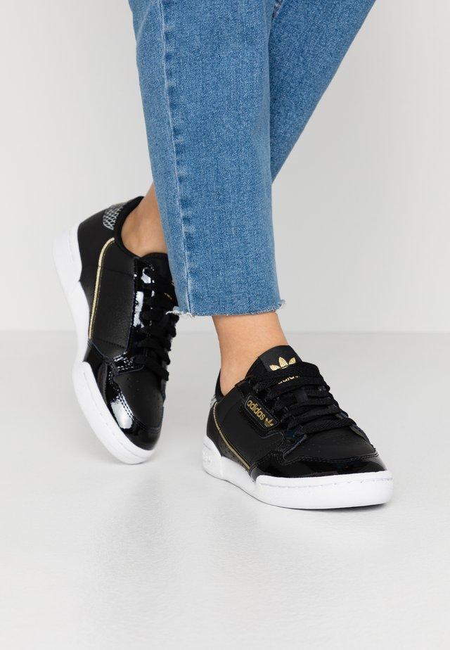CONTINENTAL 80  - Sneakers laag - core black/footwear white/gold metallic