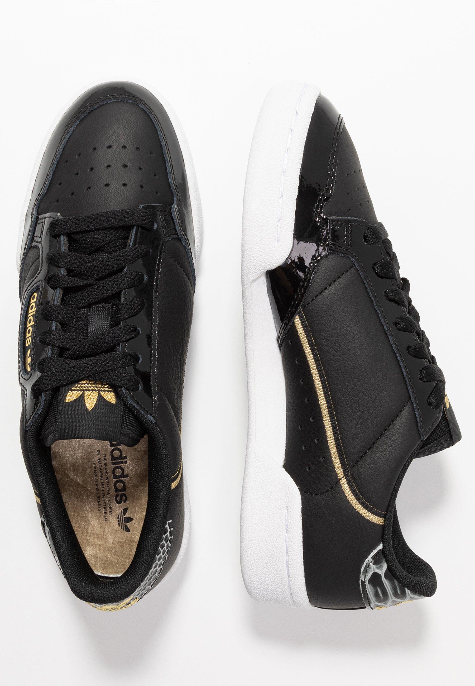 Adidas Originals Continental 80 - Joggesko Core Black/footwear White/gold Metallic