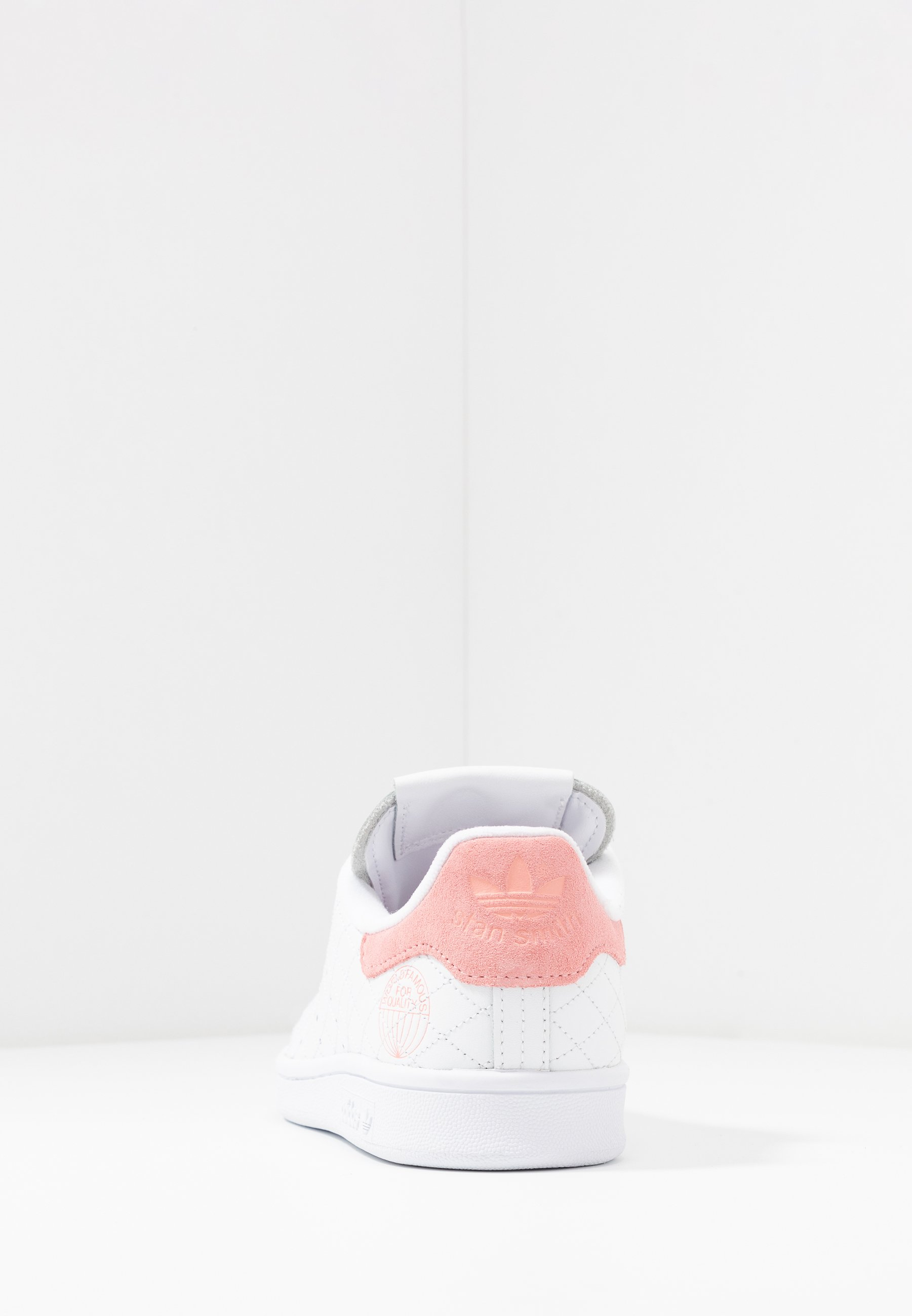 adidas Originals STAN SMITH - Sneakersy niskie - footwear white/glow pink
