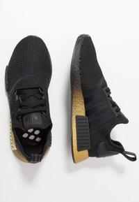 adidas Originals - NMD_R1 - Sneakersy niskie - clear black/carbon - 3