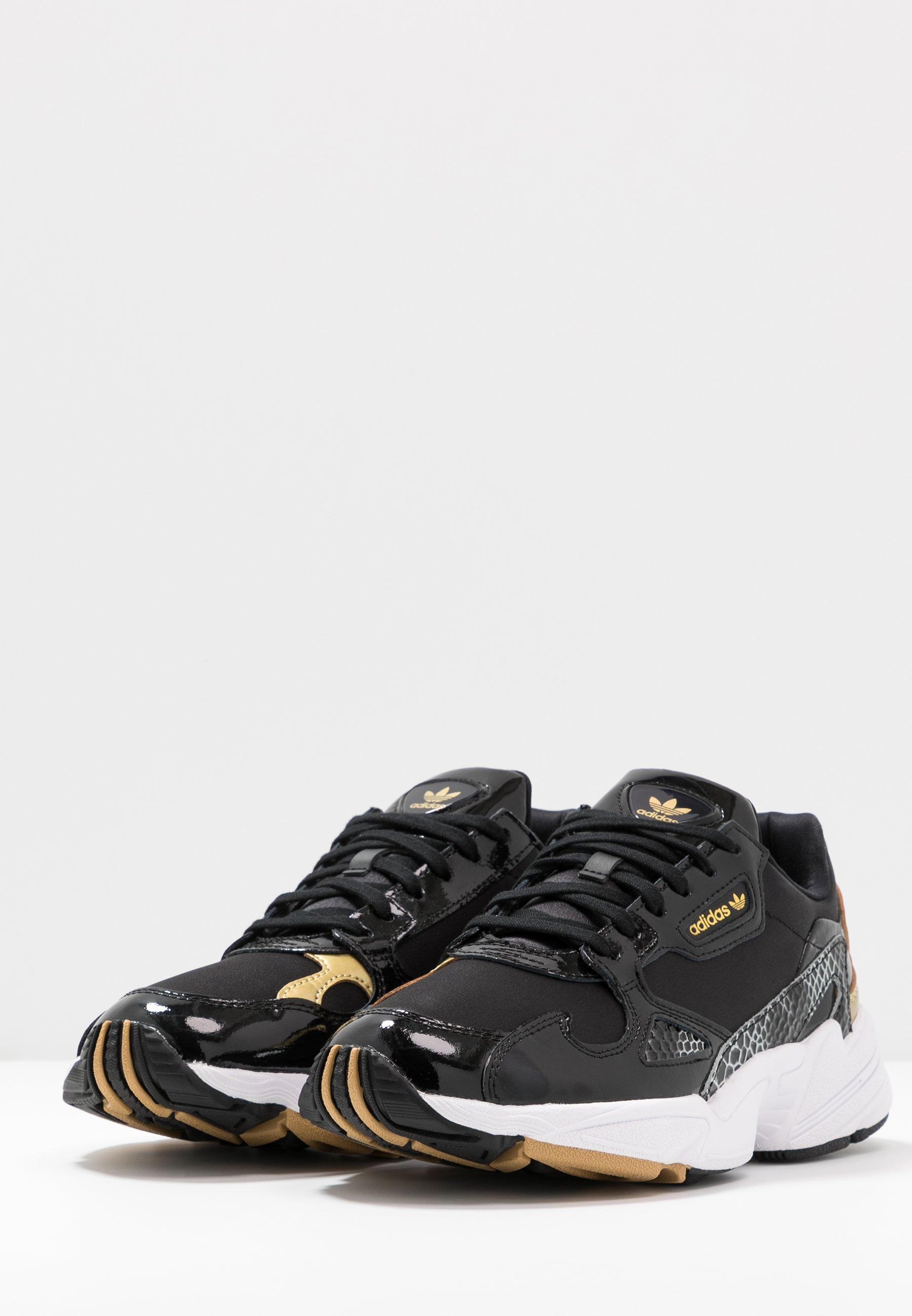 Adidas Originals Sneakers Basse - Core Black/footwear White/gold Metallic QjmTt06