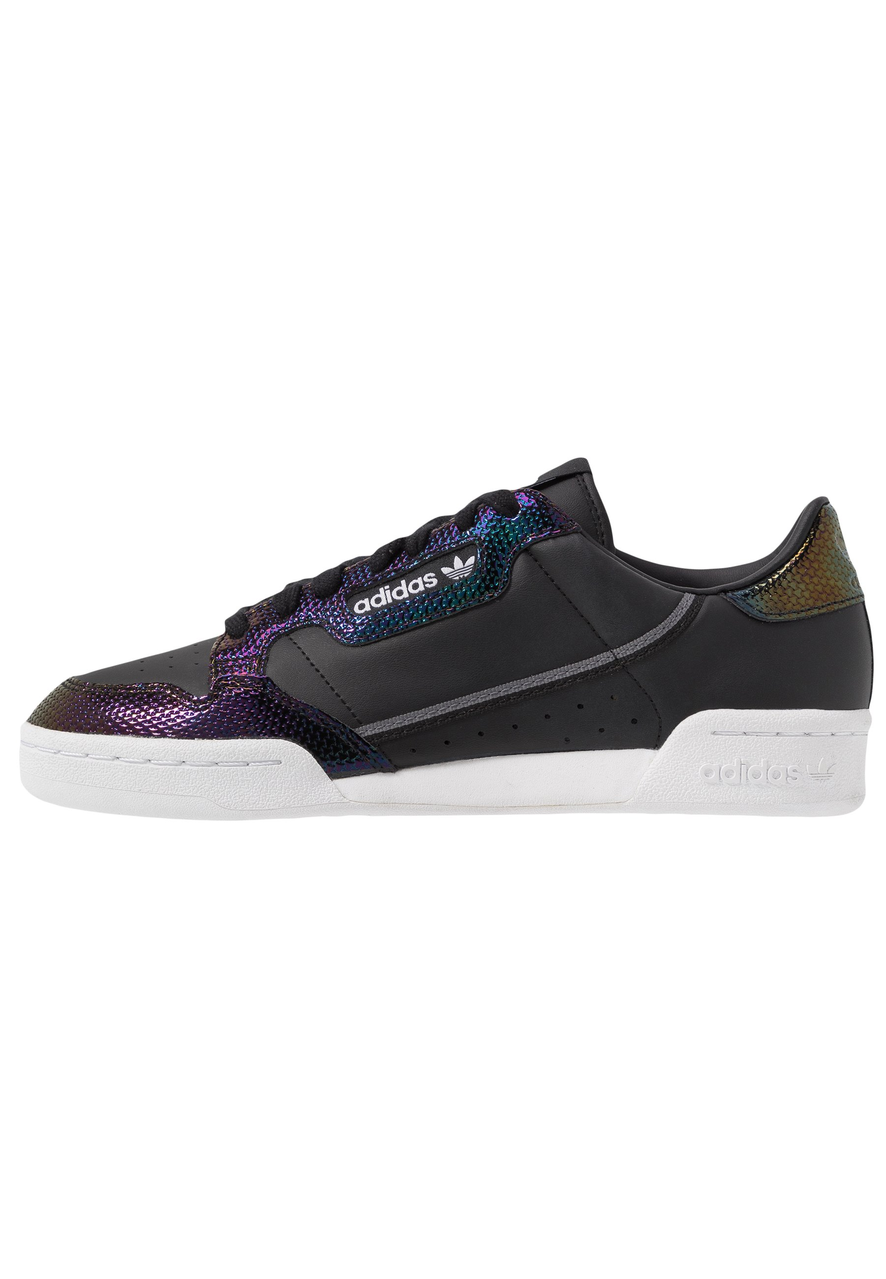adidas Originals CONTINENTAL 80 - Sneakersy niskie - core black/footwear white/mystery blue