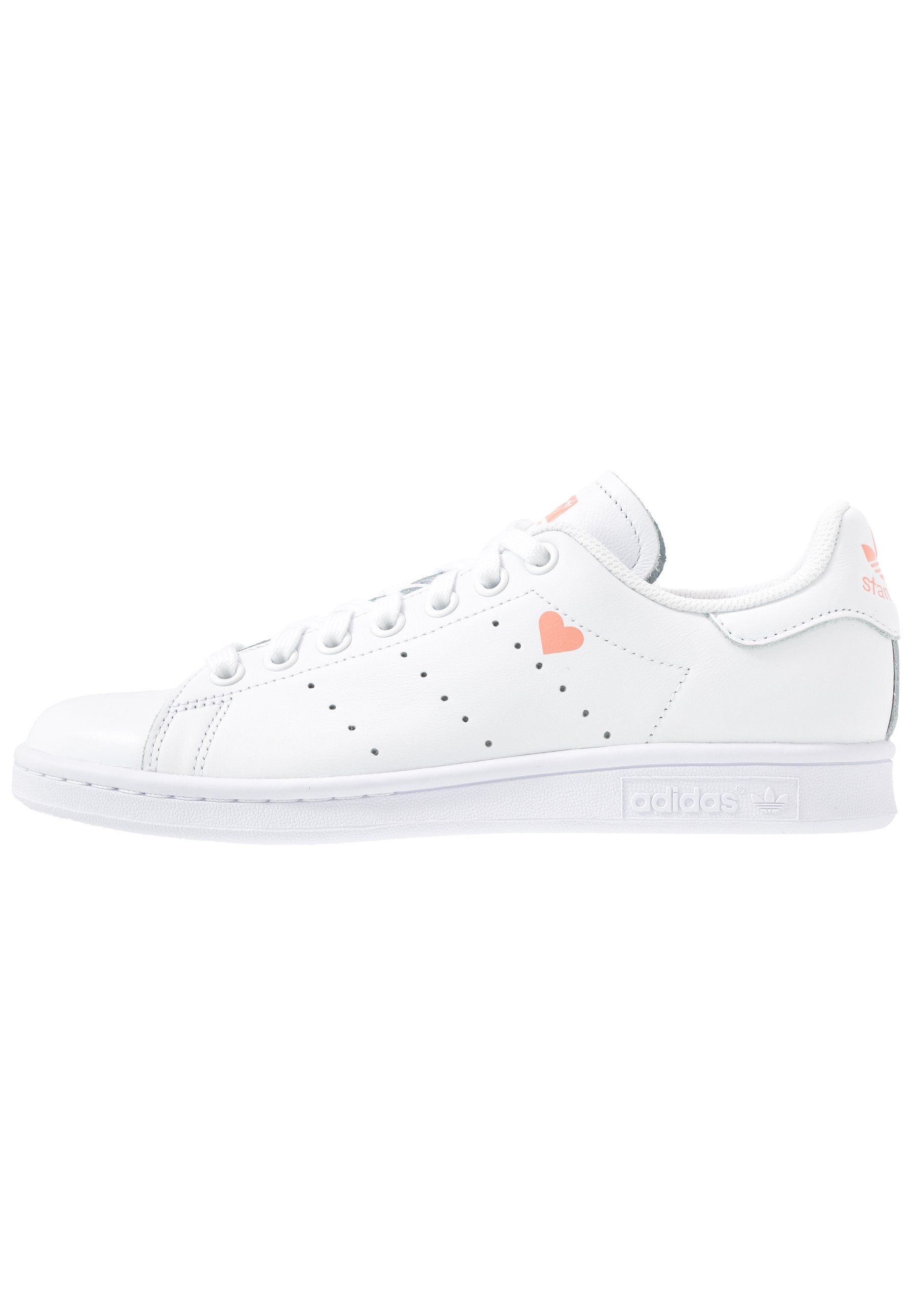 adidas Originals STAN SMITH - Sneakersy niskie - footwear white/glow pink