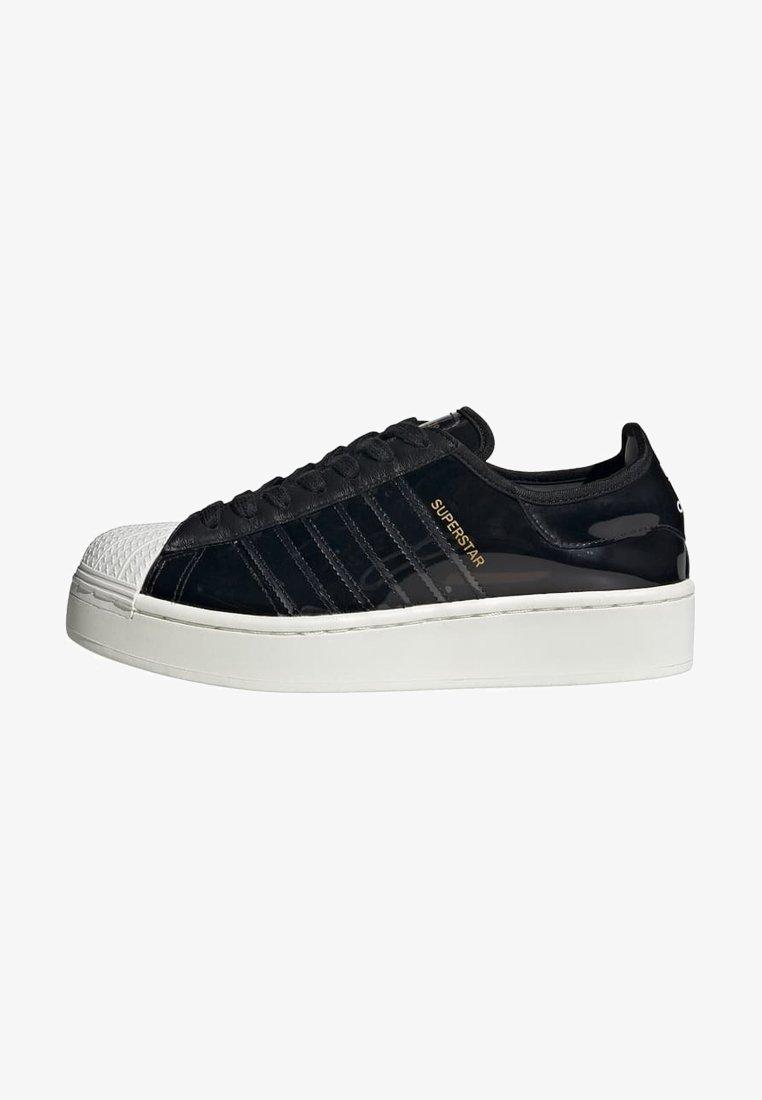 adidas Originals - SUPERSTAR BOLD - Sneakers laag - black