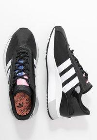 adidas Originals - SL ANDRIDGE - Joggesko - core black/footwear white - 3