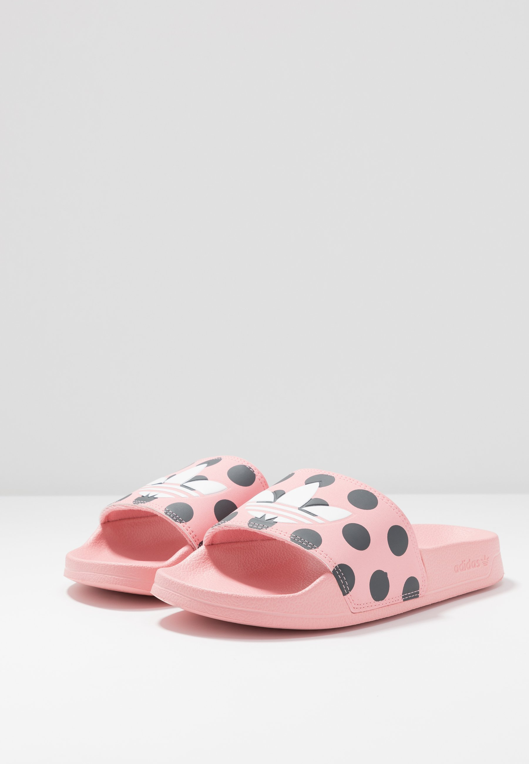 adidas Originals ADILETTE LITE - Sandaler - glow pink/footwear white/carbon