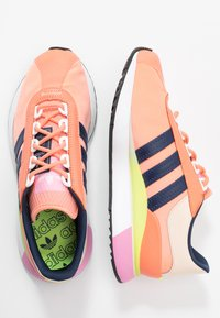 adidas Originals - SL ANDRIDGE - Zapatillas - chalk coral/night indigo/solar yellow - 3