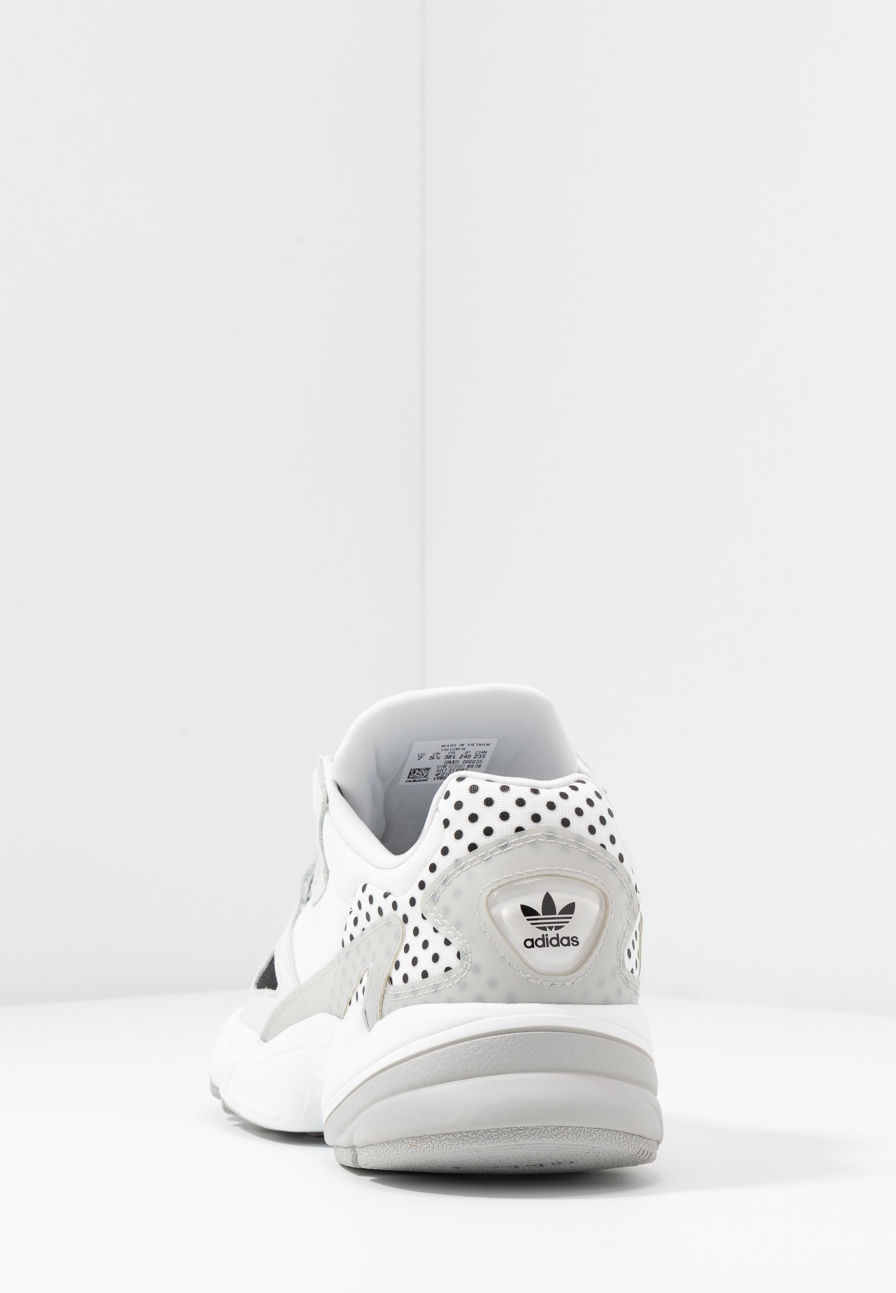 adidas Originals Sneakersy niskie - crystal white/core black/grey two