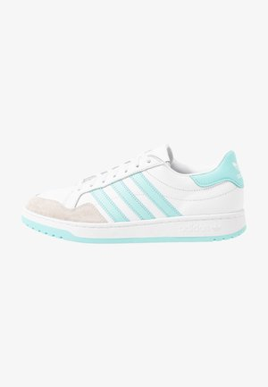 MODERN COURT - Trainers - footwear white/clear aqua/core black