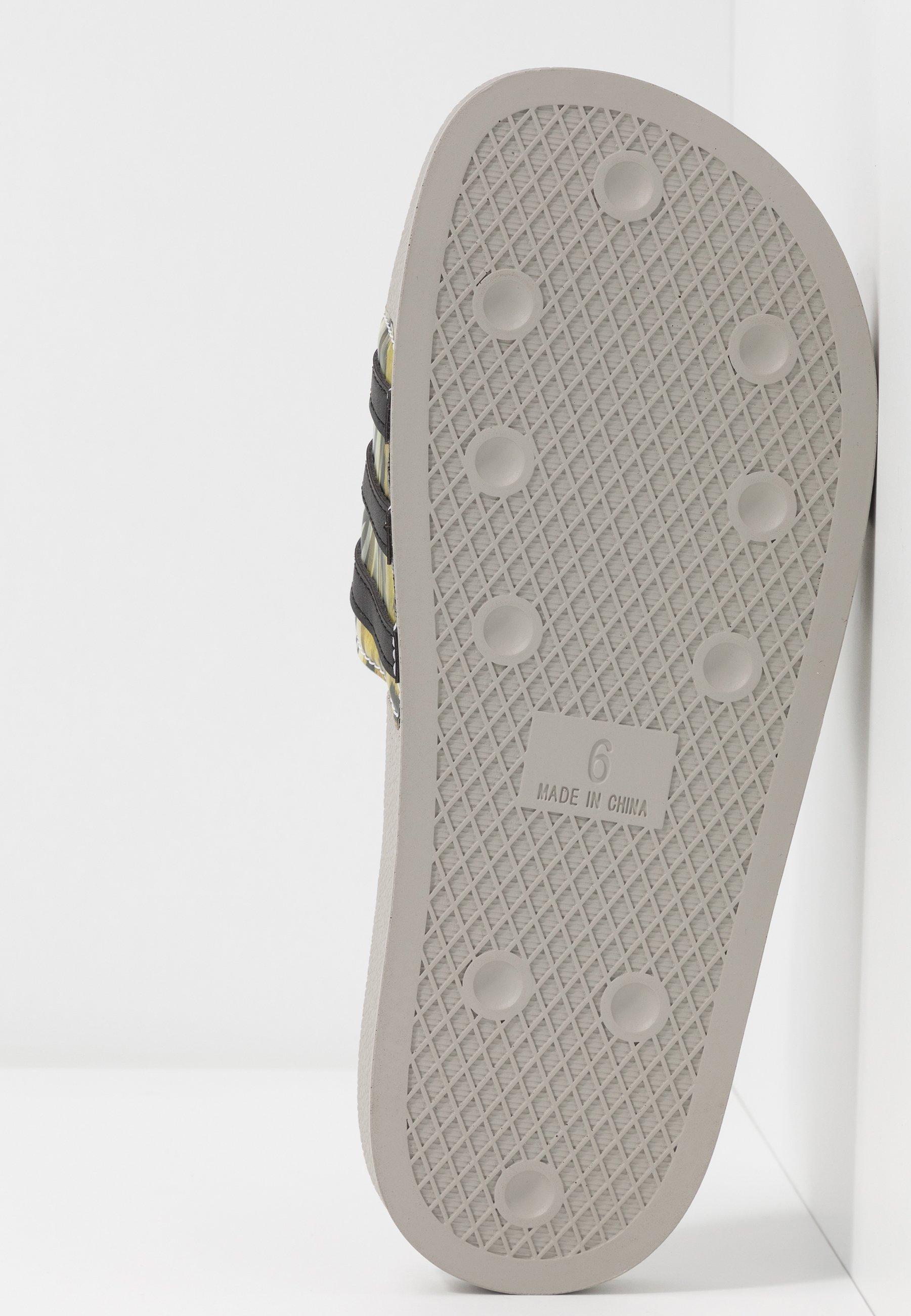 Adidas Originals Adilette - Slip-ins Core Black/metallic Grey