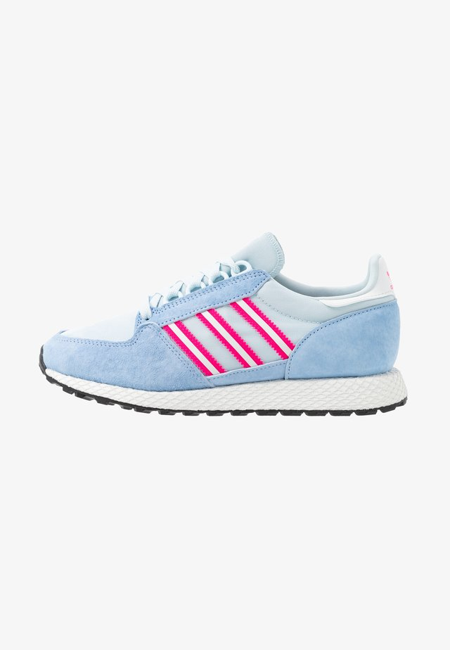 FOREST GROVE  - Sneakers laag - periwi/crystal white/shock pink