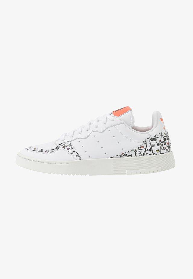 SUPERCOURT  - Sneakers laag - footwear white/core black/semi core