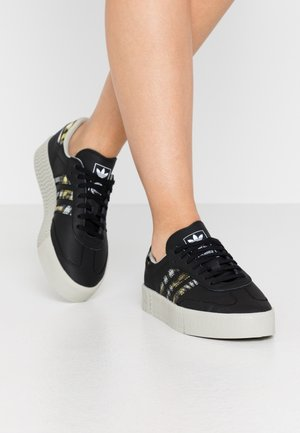 SAMBAROSE  - Sneakers laag - core black/metallic grey