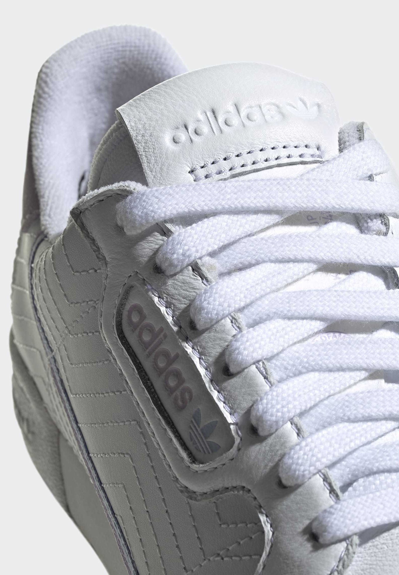 adidas Originals CONTINENTAL 80 SHOES - Sneakersy niskie - white