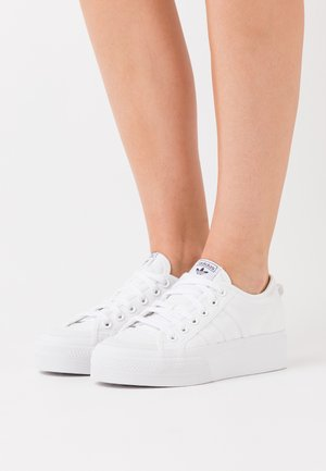 NIZZA PLATFORM - Trainers - footwear white