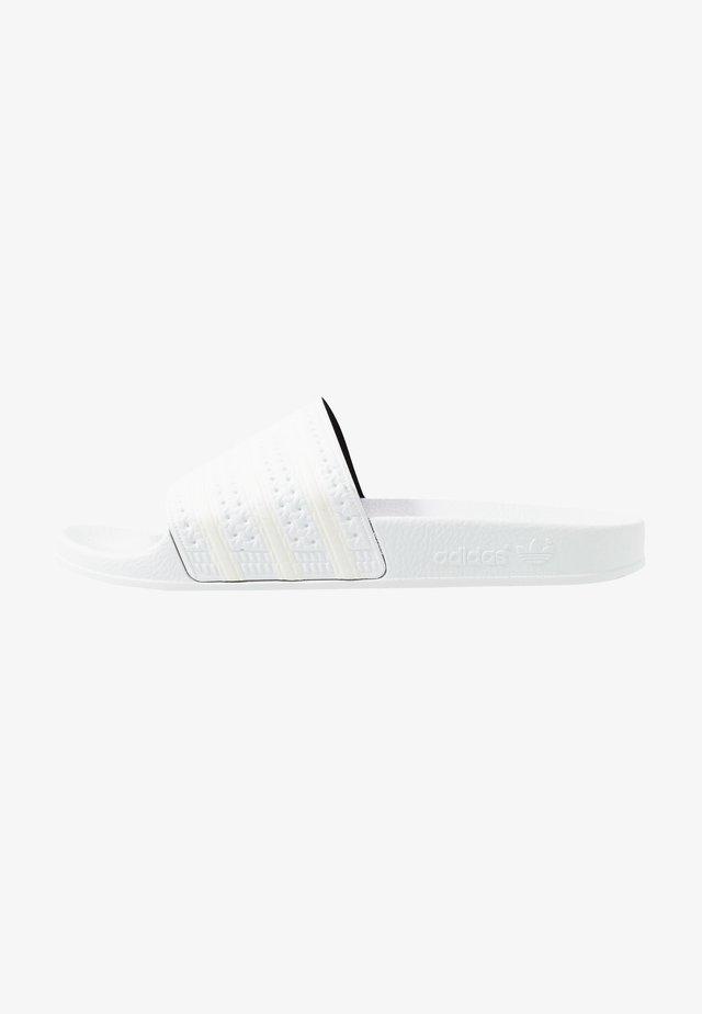 ADILETTE - Mules - footwear white/offwhite
