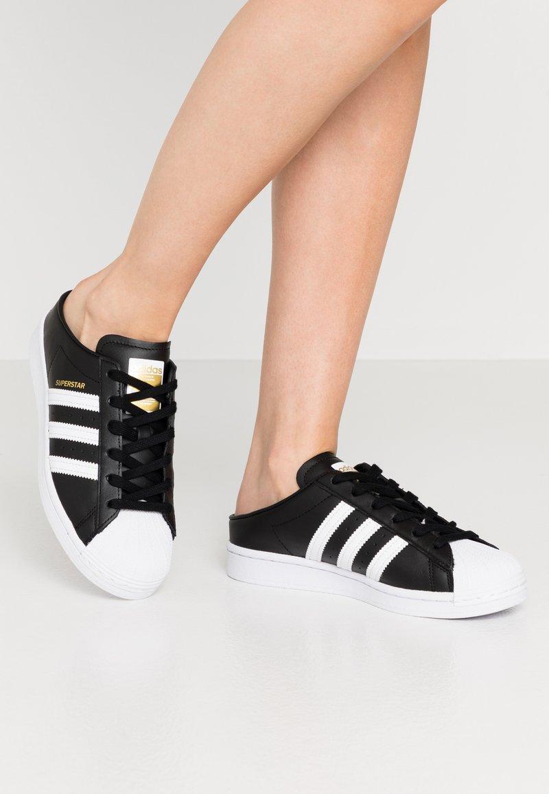 adidas Originals - SUPERSTAR - Sneakers basse - core black/footwear white