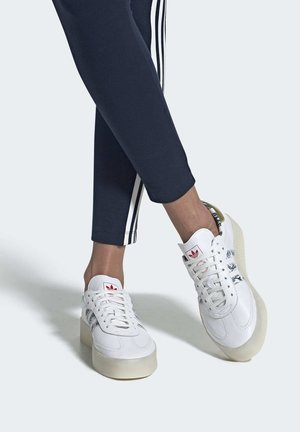 SAMBAROSE SHOES - Sneakers basse - white
