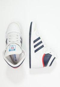 adidas Originals - TOP TEN  - Sneakers hoog - neo white/new navy/collegiate red - 1