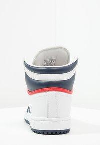 adidas Originals - TOP TEN  - Sneakers hoog - neo white/new navy/collegiate red - 3
